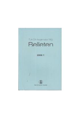 Türk Dili Araştırmaları Yıllığı - Belleten 2008 / 1-Kolektif