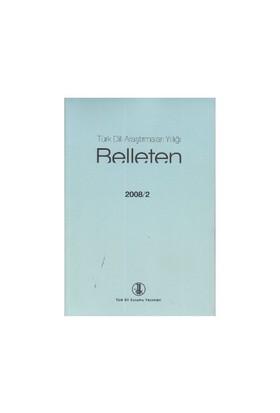 Türk Dili Araştırmaları Yıllığı - Belleten 2008 / 2-Kolektif