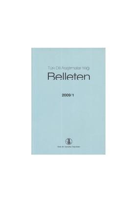 Türk Dili Araştırmaları Yıllığı - Belleten 2009 / 1-Kolektif