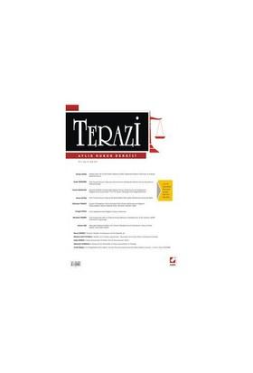 Terazi Aylık Hukuk Dergisi Yıl: 5 Sayı: 53 Ocak 2011