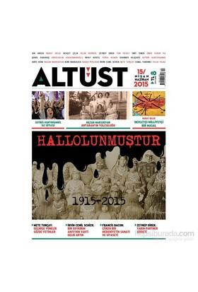 Altüst Dergisi, Sayı 15-Kolektif