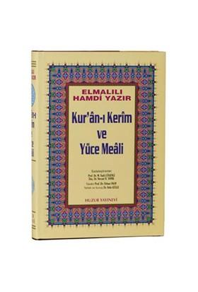 Cami Boy Kur'an-ı Kerim ve Yüce Meali