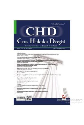 Ceza Hukuku Dergisi Sayı:24 Nisan 2014