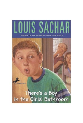 Theres A Boy In The Girls Bathroom Louis Sachar Yearling Yayınları