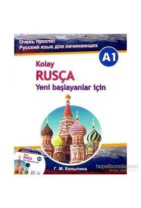 Kolay Rusça –Yeni başlayanlar için +CD (A1) - G.M. Kopytina
