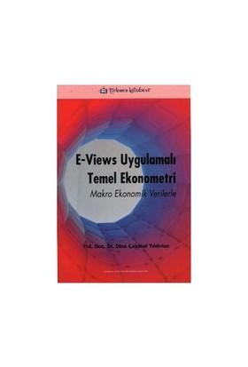 E - Views Uygulamalı Temel Ekonometri