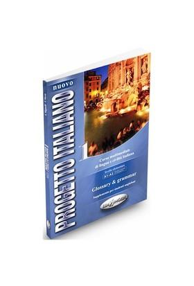 Nuovo Progetto Italiano 1 Glossary & Grammar (İtalyanca Temel ve Orta-alt Seviye) - T. Marin
