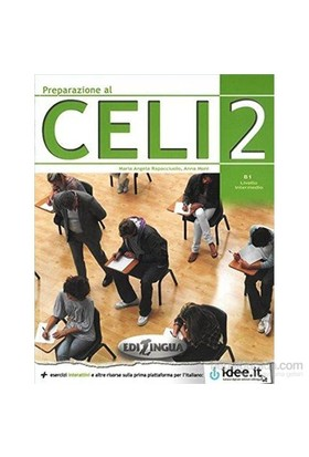 Preparazione al CELI 2 (İtalyanca sınavına hazırlık) B1 - Maria Angela Rapacciuolo