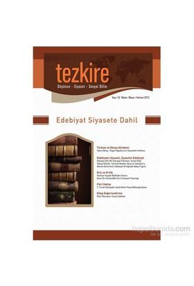 Tezkire Sayı: 52 Nisan-Mayıs-Haziran