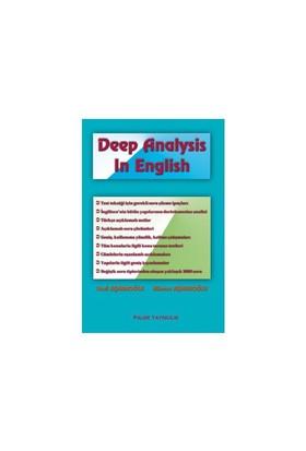 Deep Analysis In English