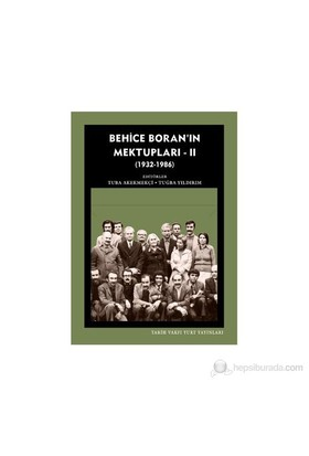 Behice Boran'In Mektupları 2 - (1932-1986)-Kolektif