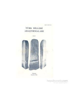 Türk Dilleri Araştırmaları Yıllığı 1998 Cilt: 8