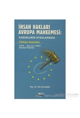 İnsan Hakları Avrupa Mahkemesi : Kararların Uygulanması-Naz Çavuşoğlu