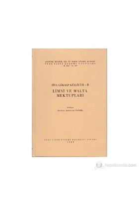 Ziya Gökalp Külliyatı 2 - Limni Ve Malta Mektupları-Fevziye Abdullah Tansel