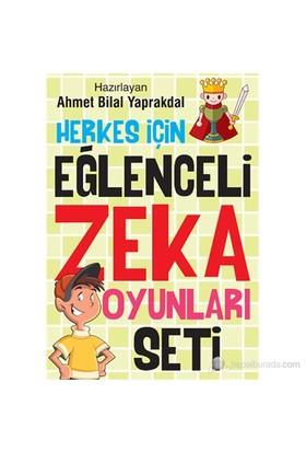 Herkes İçin Eğlenceli Zeka Oyunları Seti - Ahmet Bilal Yaprakdal