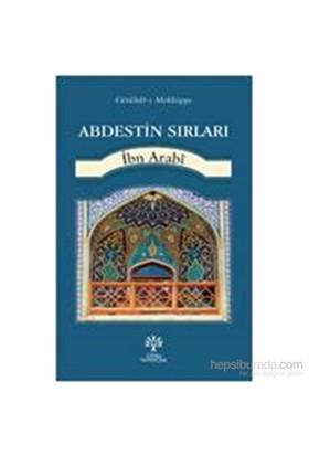 Abdestin Sırları-Muhyiddin İbn Arabi
