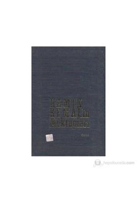 Namık Kemal'İn Mektupları 4. Cilt-Fevziye Abdullah Tansel