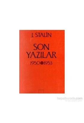 Son Yazılar 1950-53-Josef V. Stalin