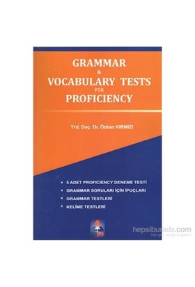 Grammar Vocabulary Tests For Proficiency