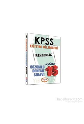 Yediiklim Kpss 2016 Eğitim Bilimeri Rehberlik Popüler Çözümlü 15 Deneme Sınavı