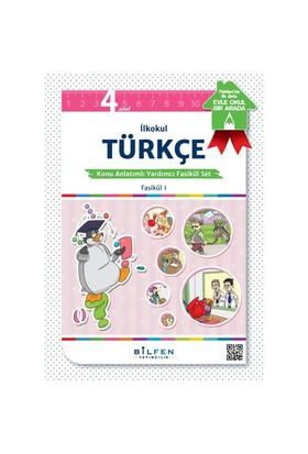 Bilfen Kültür 4. Sınıf Türkçe Konu Anlatımlı Fasikül Set Bilfen Yayınları
