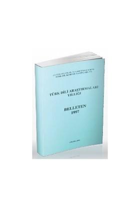 Türk Dili Araştırmaları Yıllığı - Belleten 1997-Kolektif