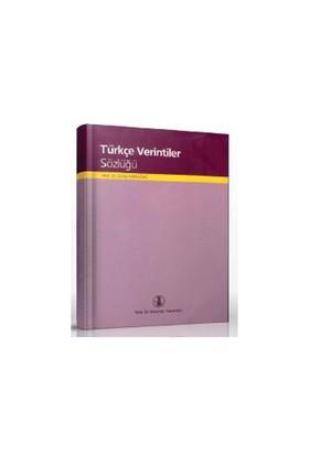 Türkçe Verintiler Sözlüğü-Günay Karaağaç