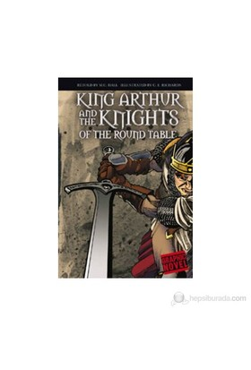 King Arthur And The Knights Of The Round Table (Graphic Novel)-M. C. Hall