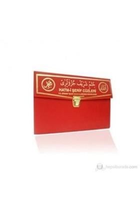 Kur'An-I Kerim 30 Cüz Hatim Seti (Hafız Boy, Çantalı, Kırmızı Kapak, Kod: 111)-Kolektif