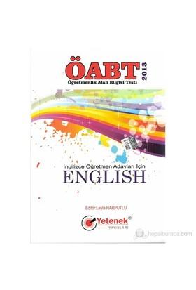 Öabt İngilizce Öğretmen Adaylar İçin English 2013-Leyla Harputlu