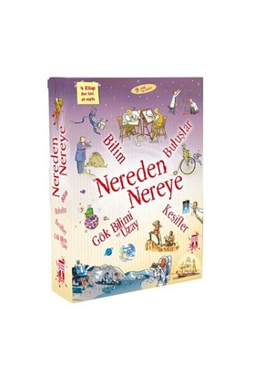 Nereden Nereye (Set) (4.Kitap) - Anna Claybourne