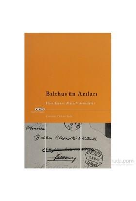 Balthus'Ün Anıları-Alain Vircondelet