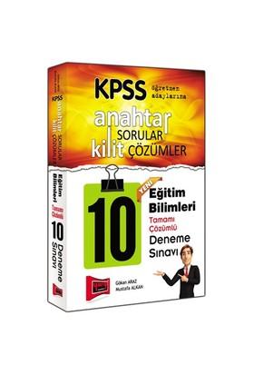 Yargı Kpss 2016 Anahtar Sorular Kilit Çözümler Eğitim Bilimleri 10 Deneme Sınavı-Gökhan Araz