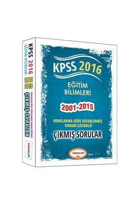 Yediiklim Kpss 2016 Eğitim Bilimleri Konularına Göre Düzenlenmiş Tamamı Çözümlü Çıkmış Sorular