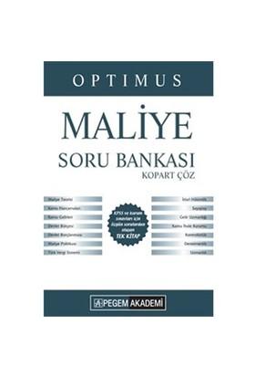Pegem 2016 Kpss A Grubu Optimus Maliye Çek Kopart Soru Bankası-Kolektif
