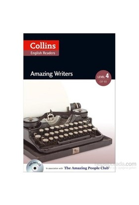 Amazing Writers +Cd (A.People Readers 4) B2-Katerina Mestheneou