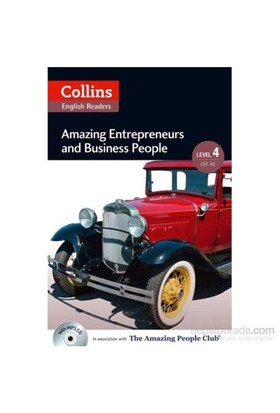 Amazing Entrepreneurs & Business People +Cd (A.People Readers 4) B2-Anne Collins