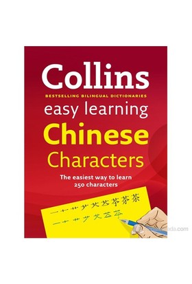 Collins Easy Learning Chinese Characters-Kolektif