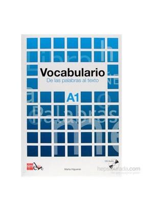 Vocabulario A1 De Las Palabras Al Texto & Cd-Marta Higueras
