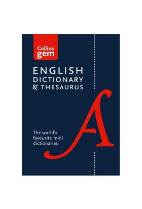 Collins Gem English Dictionary And Thesaurus