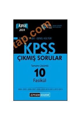 Pegem Kpss 2014 (Lisans) Tamamı Çözümlü 10 Fasikül Çıkmış Sorular-Kolektif