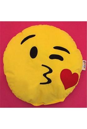 Pufumo Emoji Yastık ( Öpücük )