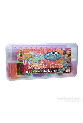 Loom Twister Bands Kit / 2000 Parça