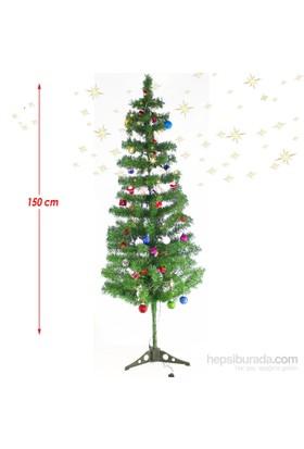 Artte 150 Cm Yılbaşı Ağacı Seti 69 Parça Süs