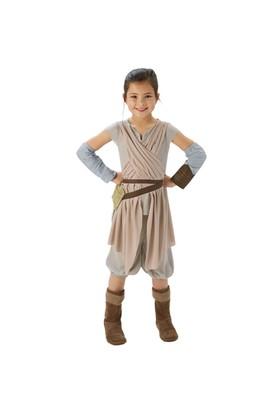 Star Wars Episode 7 Rey Kostüm Lüks 5-6 Yaş