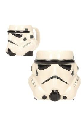 Sd Toys Star Wars Stormtrooper Head 3D Ceramic Mug Kupa Bardak