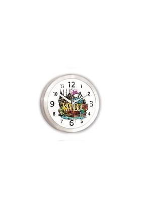 Time Gold Alüminyum Mıknatıslı Buzdolabı Saati