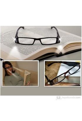 Bun Design Işıklı Okuma Gözlüğü - Numarasız