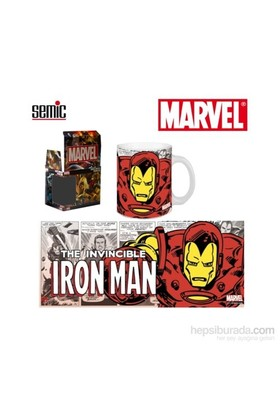 Marvel Retro Series: Iron Man Ceramic Mug Kupa Bardak
