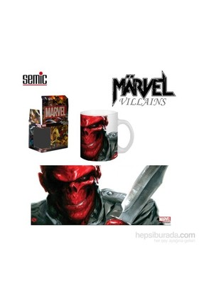 Marvel: Villains Red Skull Ceramic Mug Kupa Bardak